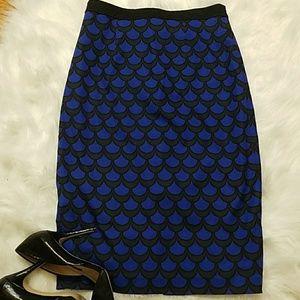 Halogen high -waisted pencil skirt